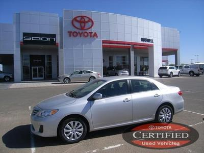 2013 Toyota Corolla Sedan for sale in Roswell for $19,300 with 12,770 miles.
