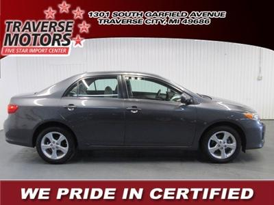 2013 Toyota Corolla LE Sedan for sale in Traverse City for $17,485 with 28,133 miles.