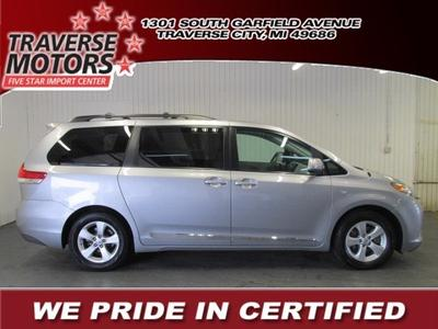 2012 Toyota Sienna Base Minivan for sale in Traverse City for $21,945 with 38,911 miles.