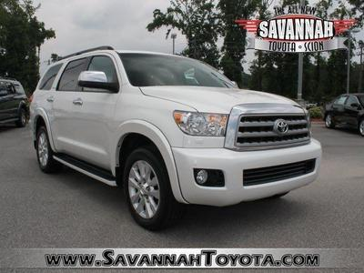2012 Toyota Sequoia SUV for sale in Savannah for $49,991 with 34,452 miles.