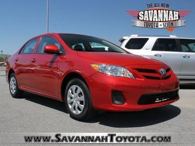 2013 Toyota Corolla Sedan for sale in Savannah for $17,991 with 17,041 miles.