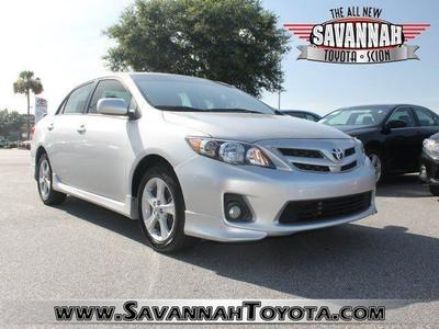 2011 Toyota Corolla S Sedan for sale in Savannah for $15,991 with 31,993 miles.