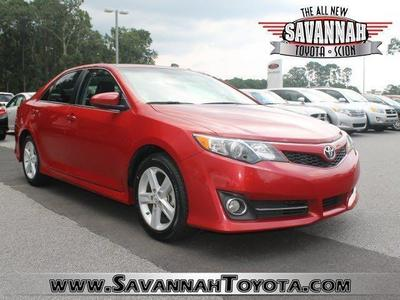 2012 Toyota Camry SE Sedan for sale in Savannah for $17,991 with 48,302 miles.