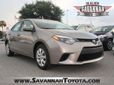 2014 Toyota Corolla Sedan for sale in Savannah for $17,991 with 5,206 miles.