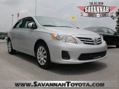 2013 Toyota Corolla LE Sedan for sale in Savannah for $15,991 with 17,105 miles.