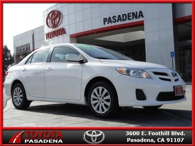 2012 Toyota Corolla LE Sedan for sale in Pasadena for $14,525 with 47,737 miles.