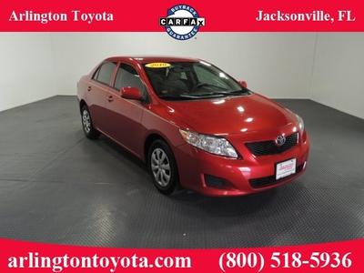 2010 Toyota Corolla LE Sedan for sale in Jacksonville for $13,681 with 42,312 miles.