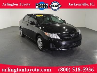 2013 Toyota Corolla Sedan for sale in Jacksonville for $15,464 with 28,909 miles.