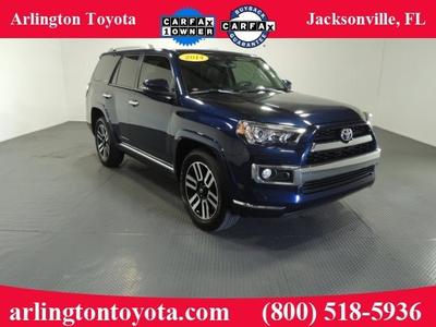 2014 Toyota 4Runner SUV for sale in Jacksonville for $39,999 with 20,289 miles.