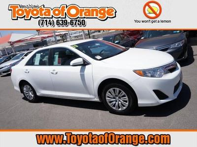 2013 Toyota Camry Sedan for sale in Orange for $16,999 with 41,346 miles.