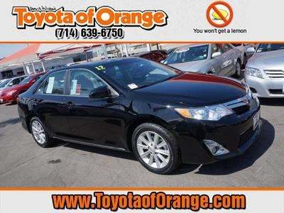 2012 Toyota Camry XLE Sedan for sale in Orange for $19,499 with 31,430 miles.