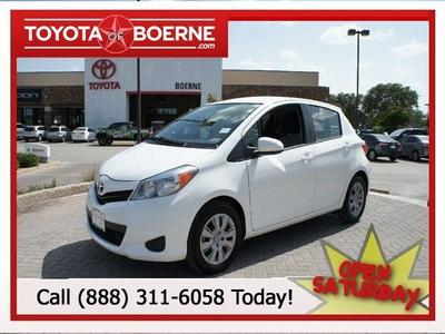 2013 Toyota Yaris Hatchback for sale in Boerne for $13,988 with 34,032 miles.