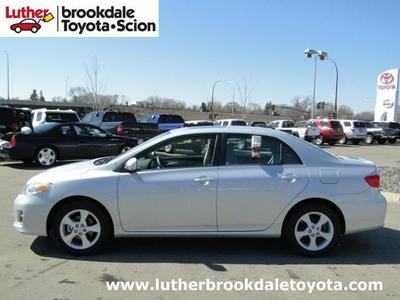 2013 Toyota Corolla Sedan for sale in Minneapolis for $16,995 with 27,452 miles.