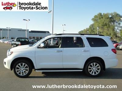 2012 Toyota Sequoia Limited SUV for sale in Minneapolis for $42,495 with 47,356 miles.