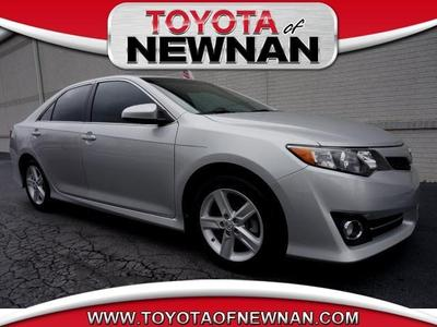 2012 Toyota Camry SE Sedan for sale in Newnan for $17,989 with 42,635 miles.