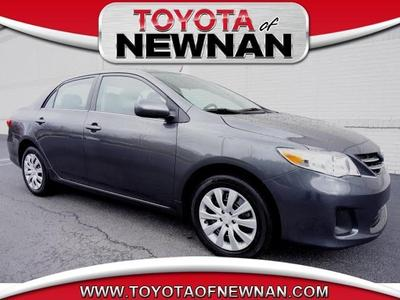 2013 Toyota Corolla Sedan for sale in Newnan for $17,399 with 23,252 miles.