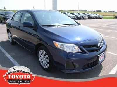 2012 Toyota Corolla LE Sedan for sale in Rapid City for $15,990 with 25,139 miles.