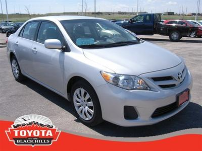 2012 Toyota Corolla LE Sedan for sale in Rapid City for $15,990 with 29,533 miles.