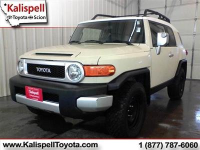 2008 Toyota FJ Cruiser SUV for sale in Kalispell for $23,990 with 63,066 miles.