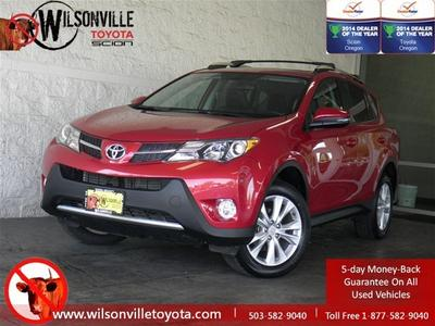 2013 Toyota RAV4 SUV for sale in Wilsonville for $28,194 with 10,125 miles.