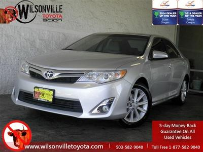 2012 Toyota Camry XLE Sedan for sale in Wilsonville for $19,998 with 36,662 miles.