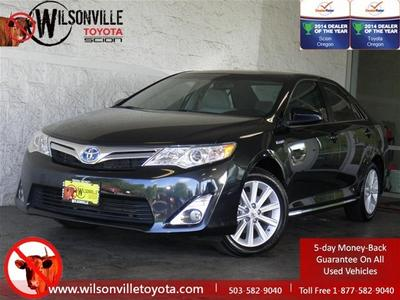 2012 Toyota Camry Hybrid XLE Sedan for sale in Wilsonville for $25,899 with 17,788 miles.