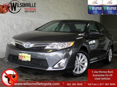 2012 Toyota Camry Hybrid XLE Sedan for sale in Wilsonville for $26,599 with 20,139 miles.