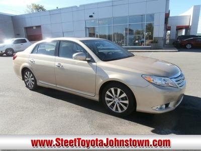 Toyota Avalon From A Car Lot In Johnstown NY