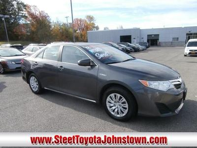 Toyota Camry Hybrid From A Car Lot In Johnstown NY