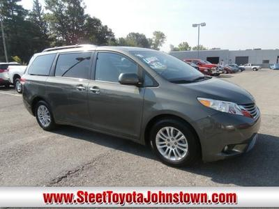 Toyota Sienna From A Car Lot In Johnstown NY
