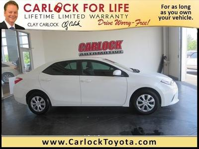 2014 Toyota Corolla Sedan for sale in Tupelo for $17,888 with 2,416 miles.