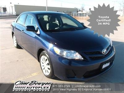 2012 Toyota Corolla LE Sedan for sale in Emporia for $14,995 with 36,025 miles.