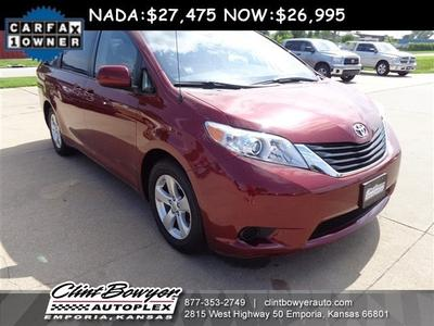 2013 Toyota Sienna Minivan for sale in Emporia for $26,995 with 21,810 miles.
