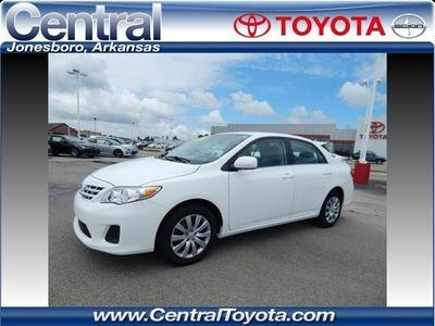 2013 Toyota Corolla LE Sedan for sale in Jonesboro for $17,995 with 5,405 miles.