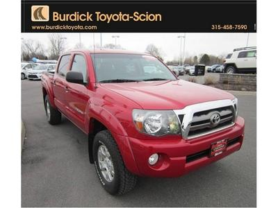 2010 Toyota Tacoma Double Cab Crew Cab Pickup for sale in Cicero for $27,995 with 22,698 miles.