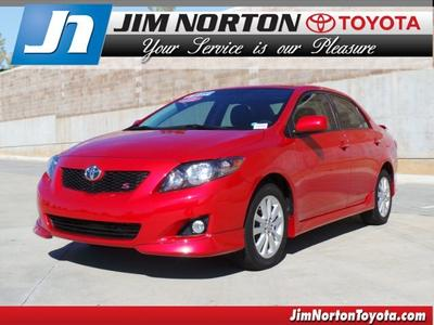 2010 Toyota Corolla S Sedan for sale in Tulsa for $15,992 with 22,574 miles.
