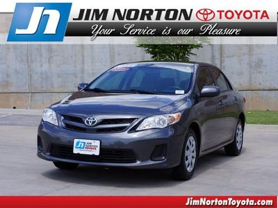 2011 Toyota Corolla LE Sedan for sale in Tulsa for $15,591 with 44,916 miles.