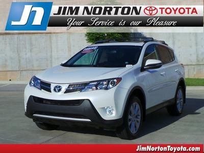 2013 Toyota RAV4 SUV for sale in Tulsa for $26,593 with 41,800 miles.