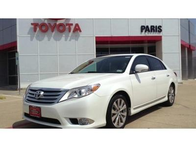 2011 Toyota Avalon Limited Sedan for sale in Paris for $23,770 with 53,077 miles.