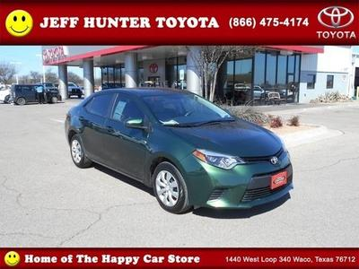 2014 Toyota Corolla Sedan for sale in Waco for $17,433 with 5,327 miles.