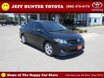 2013 Toyota Corolla Sedan for sale in Waco for $17,685 with 28,375 miles.