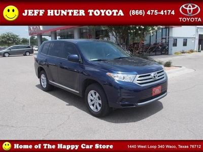 2011 Toyota Highlander Base SUV for sale in Waco for $23,978 with 59,190 miles.