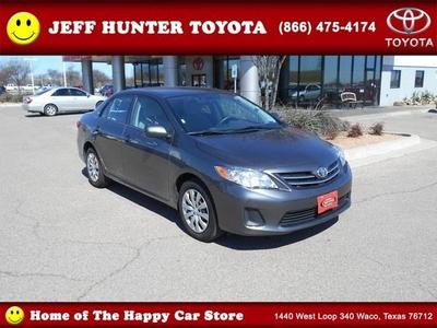 2013 Toyota Corolla Sedan for sale in Waco for $15,566 with 30,457 miles.