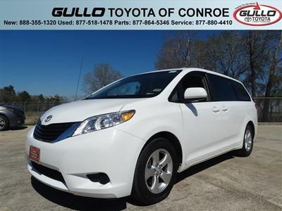 2013 Toyota Sienna Minivan for sale in Conroe for $25,998 with 19,082 miles.
