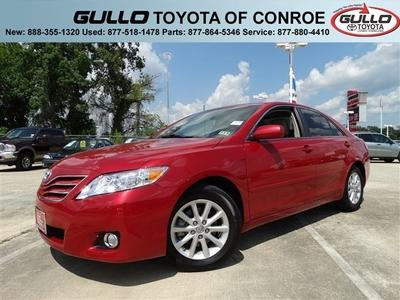 2011 Toyota Camry XLE Sedan for sale in Conroe for $18,896 with 49,112 miles.
