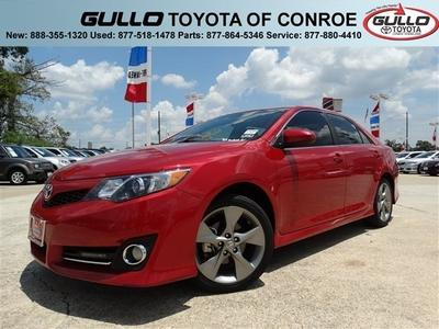 2012 Toyota Camry SE Limited Edition Sedan for sale in Conroe for $18,345 with 46,135 miles.