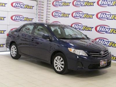 2013 Toyota Corolla LE Sedan for sale in El Paso for $18,995 with 38,983 miles.