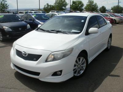 2009 Toyota Corolla S Sedan for sale in Albuquerque for $16,999 with 68,878 miles.
