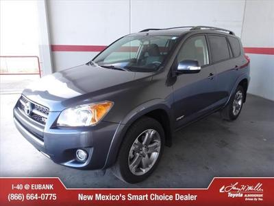2012 Toyota RAV4 Sport SUV for sale in Albuquerque for $27,500 with 20,483 miles.