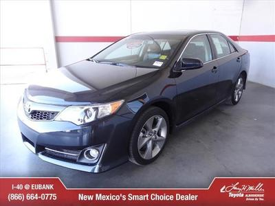 2012 Toyota Camry SE Sedan for sale in Albuquerque for $26,800 with 24,181 miles.